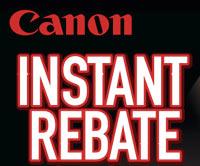 Canon Instant Rebates
